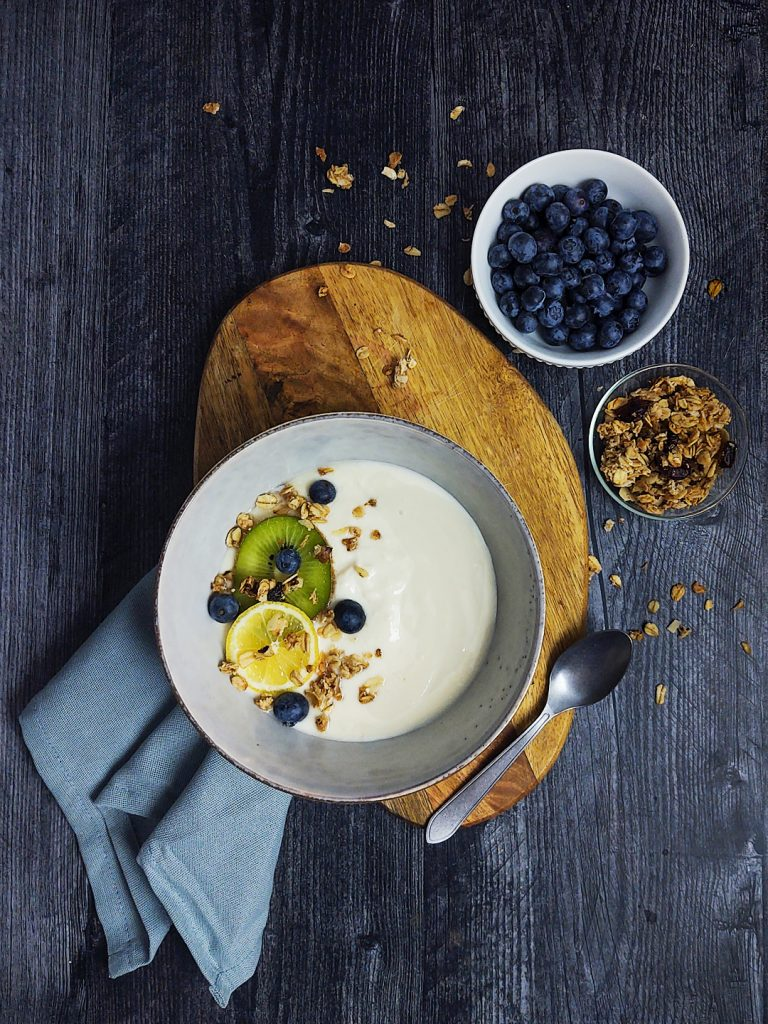 Thick, creamy, VEGAN yogurt